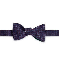 Brooks Brothers Reversible Silk Bow Tie Purple