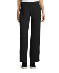 Vince Side Zip Twill Trousers Black