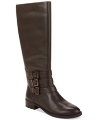 Inc International Concepts Women's Francy 3 Buckle Riding Boots Women's Shoes