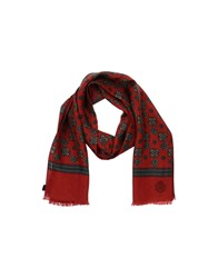 Dolce And Gabbana Accessories Oblong Scarves Men Red