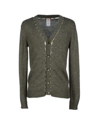 Galliano Cardigans Military Green