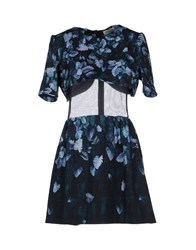 Calla Short Dresses Dark Blue