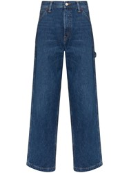 Polo Ralph Lauren Relaxed Straight Leg Jeans Blue