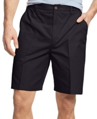 Geoffrey Beene Big And Tall Ripstop Shorts Navy