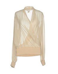 Thierry Mugler Blouses Ivory