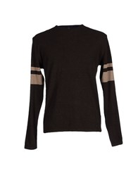 Pull Pal Zileri Knitwear Jumpers Men Dark Brown