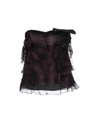 Richmond Denim Tube Tops Deep Purple