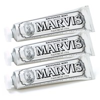 Marvis Whitening Mint Toothpaste Triple Pack 3 X 75Ml