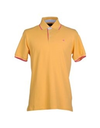 Brooksfield Polo Shirts Yellow