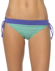 Prana Saba Swim Bottom Cool Green