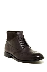 Vintage Foundry Graham Lace Up Wingtip Boot Black