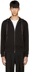 3.1 Phillip Lim Ssense Exclusive Black Embroidered Hoodie