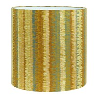 Clarissa Hulse Textured Stripe Lamp Shade Turmeric Yellow