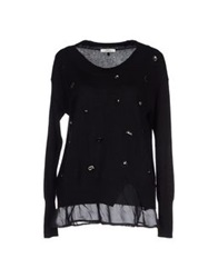 Lucky Lu Sweaters Black