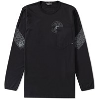 Stone Island Shadow Project Long Sleeve Mako Tee Black