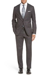 Boss Men's 'Novan Ben' Trim Fit Plaid Suit