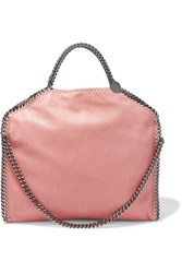 Stella Mccartney The Falabella Small Faux Brushed Leather Shoulder Bag Blush