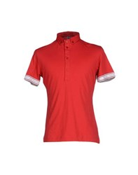 Jean Paul Gaultier Jean's Paul Gaultier Topwear Polo Shirts Men Red