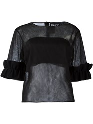 Paskal Sheer T Shirt Black