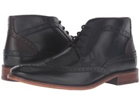 Ted Baker Pericop 2 Black Dark Brown Leather Men's Lace Up Boots