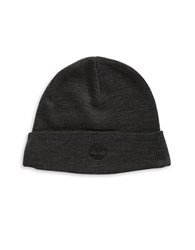 Timberland Folded Knit Cap Charcoal