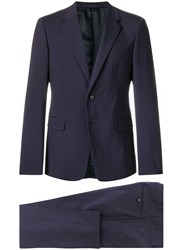Prada Classic Formal Suit Blue