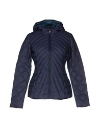 Fornarina Down Jackets Dark Blue
