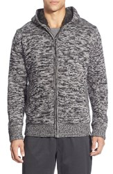 The North Face Men's 'Twisted Ridge' Hooded Zip Front Sweater