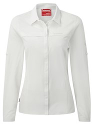 Craghoppers Nosilife Pro Long Sleeved Shirt Snow