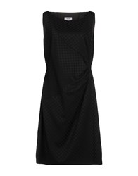 Moschino Cheap And Chic Knee Length Dresses Black