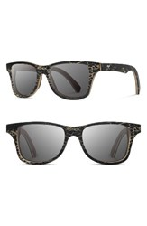 Shwood Men's Canby 55Mm Polarized Cactus And Wood Sunglasses