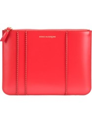 Comme Des Gara Ons Wallet Zipped Casual Wallet Red