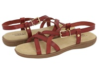 Bass Margie Cinnamon Women's Sandals Burgundy