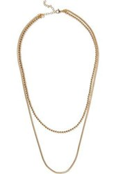 Iris And Ink Mariam 18 Karat Gold Plated Sterling Silver Necklace Gold