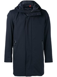 Rrd Rain Short Parka Blue