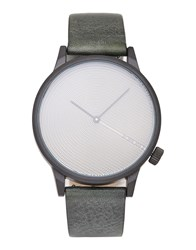 Komono Wrist Watches Dark Green