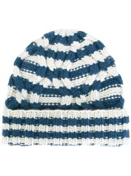 Warm Me 'Duma Stripe' Beanie Blue
