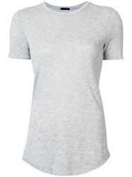 Atm Anthony Thomas Melillo Plain T Shirt Grey
