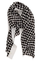 Kate Spade Women's New York 'Seaglass Dots' Scarf