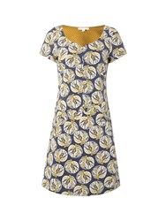 White Stuff Archive Jersey Dress Yellow