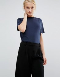 Selected My Perfect Tee Navy
