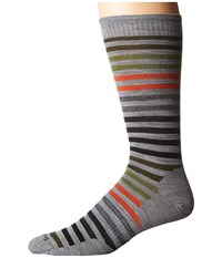 Smartwool Spruce Street Crew Light Gray Heather Men's Crew Cut Socks Shoes