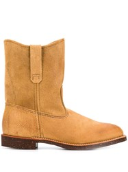 Red Wing Shoes Pecos Boots Brown