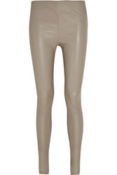 Balenciaga Stretch Leather Leggings