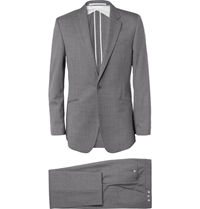 Kilgour Grey Wool Suit Gray
