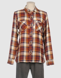 Riviera Club Long Sleeve Shirts Rust