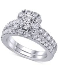 Marchesa Diamond Bridal Set 2 Ct. T.W. In 18K White Gold