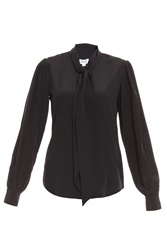 Alice By Temperley Tuxedo Bow Shirt