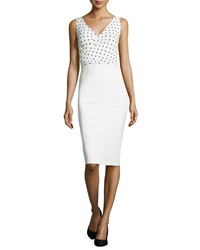 La Petite Robe Di Chiara Boni Polka Dot Print Dress White Black