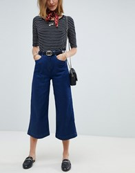 Maison Scotch Designers Favourite Wide Leg Jeans 1927 Deep Indigo Navy